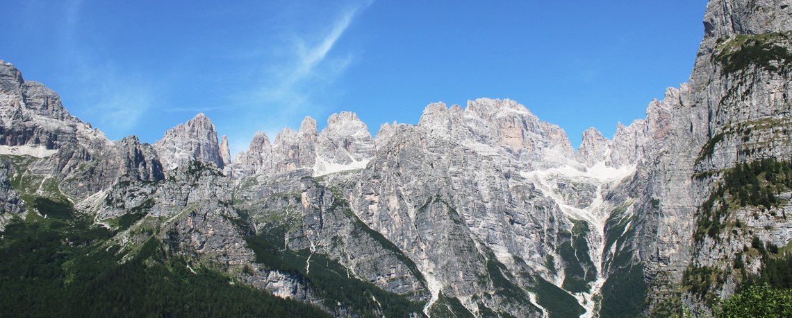 Brenta Dolomites in Trentino region of Italy