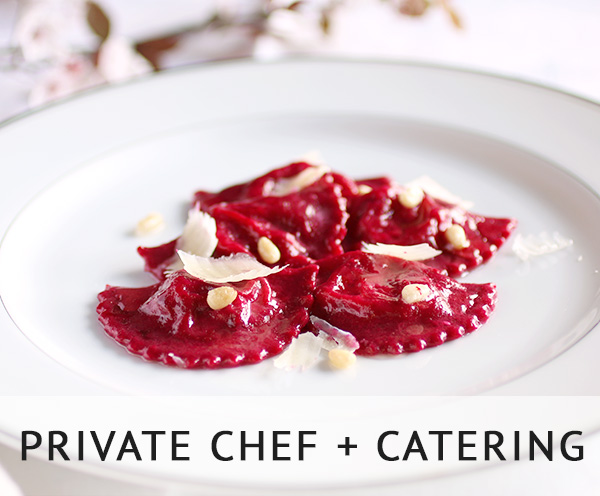 private chef catering