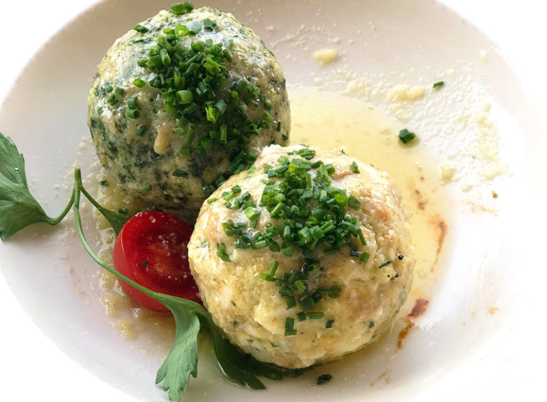 canederli bread dumplings