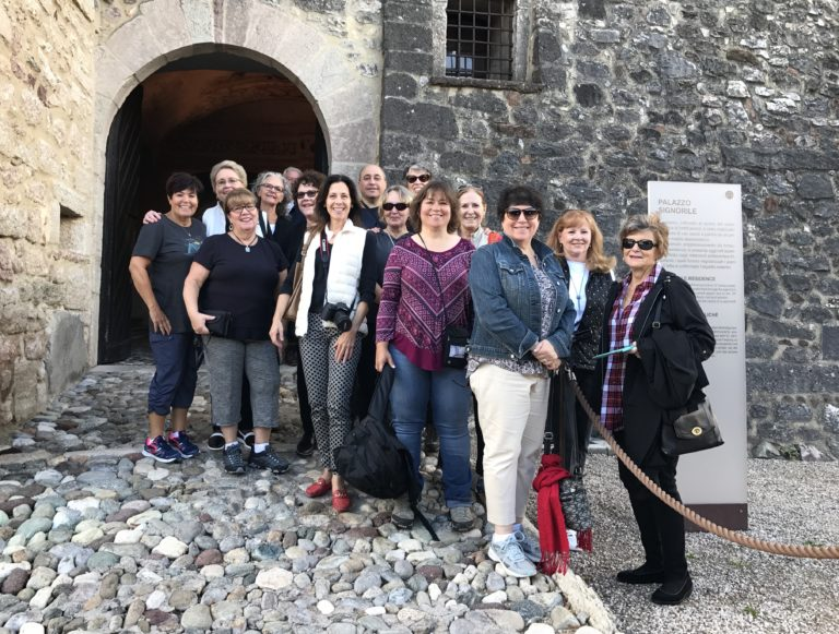 group at Castel Thun